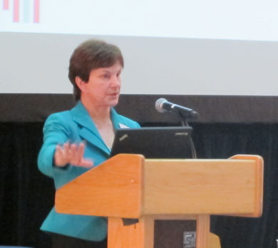 Janet Woodcock speaking at ISCMP 2014